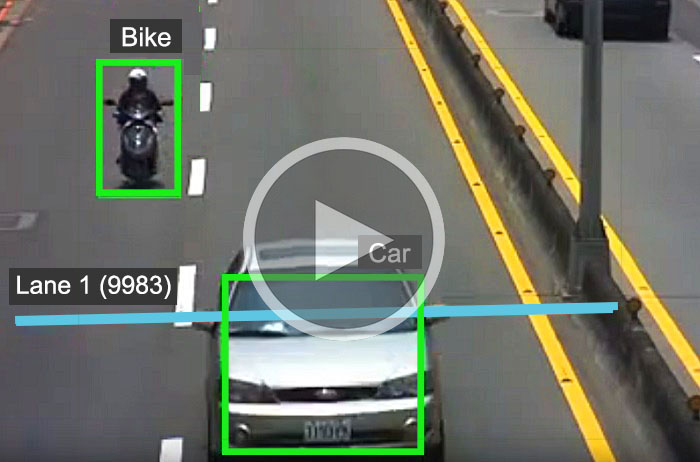 Car counting API - camera software solution